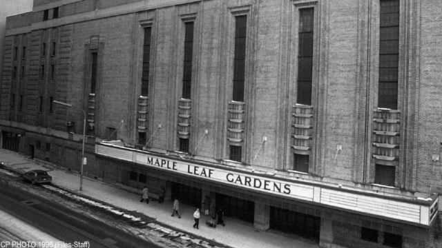 Maple Leaf Gardens Opening Night Maple Leaf Gardens Time