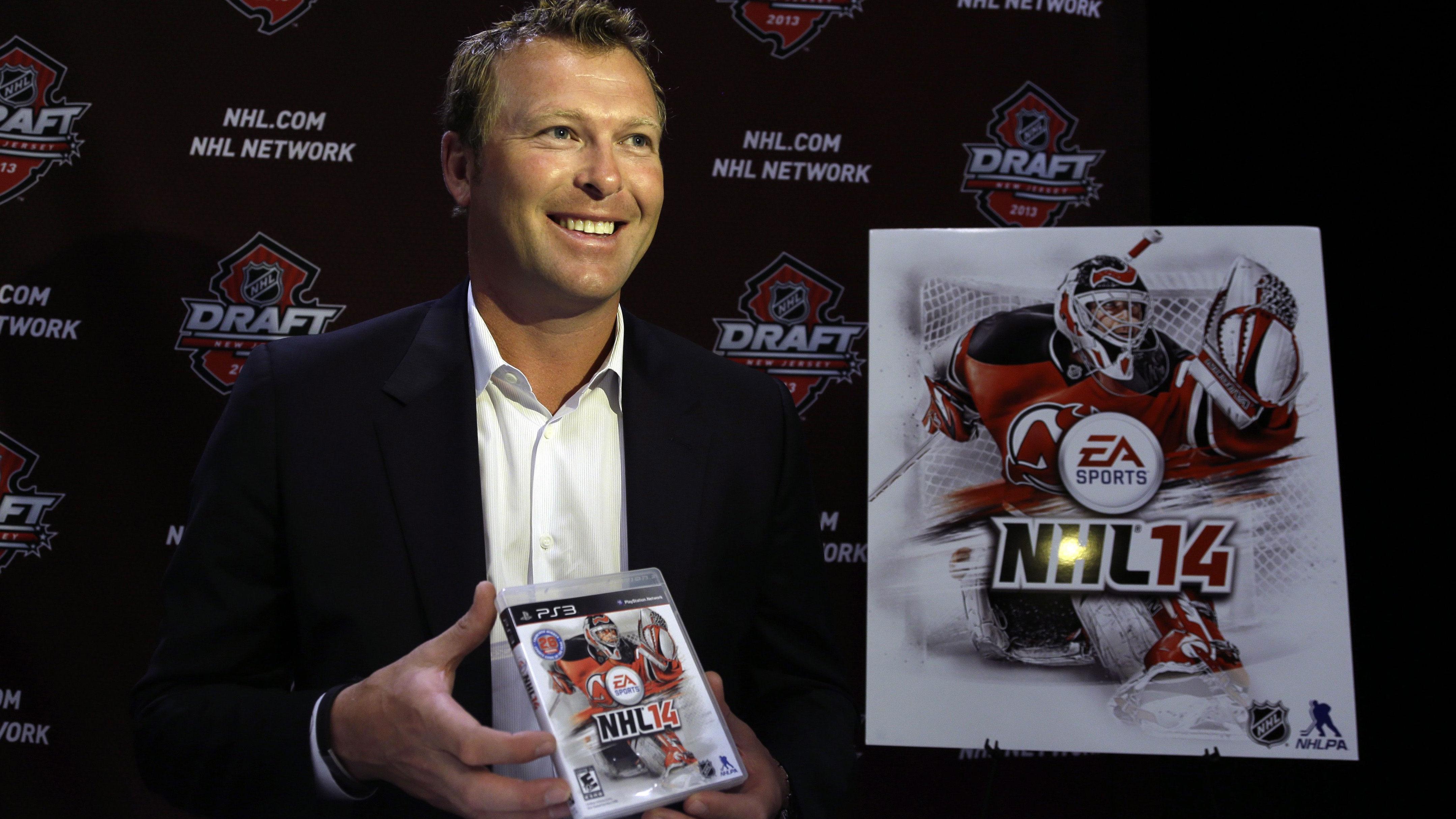 NHL 14 cover vote shows Brodeur is still a name. New Jersey Devils goalie  Martin ... de8142d70