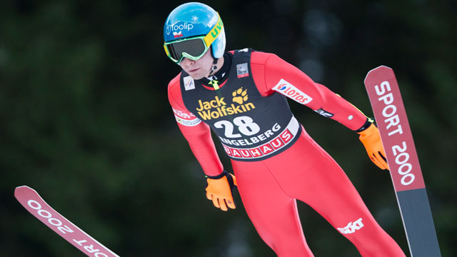 ziobro wins first ski jumping world cup event. Black Bedroom Furniture Sets. Home Design Ideas