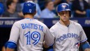 Lawrie slam powers Jays to win