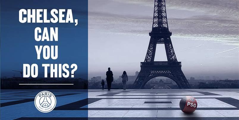 """ПСЖ - """"Челси"""", 16.02.16, Париж."""