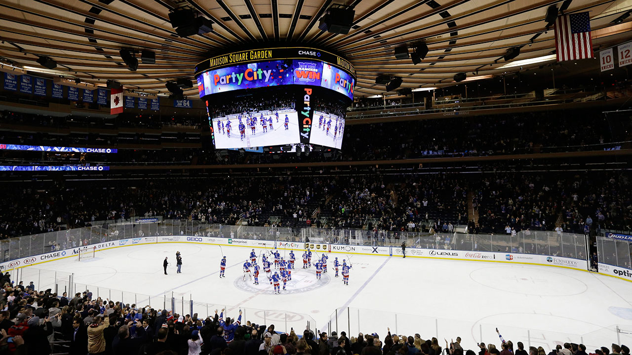 Rangers expect MSG to be rocking for Game 3 - Sportsnet.ca
