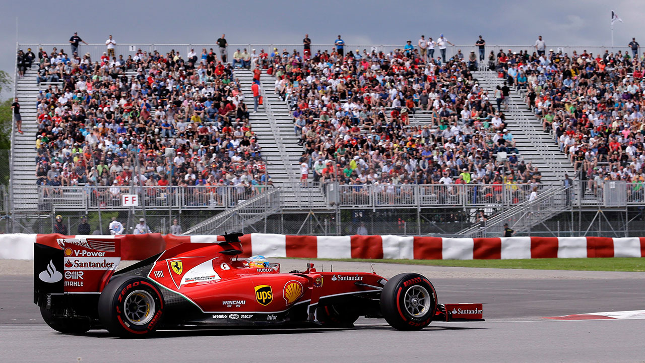 Raikkonen tops practice at Canadian Grand Prix