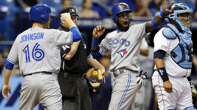 Blue Jays flip the script at Tropicana