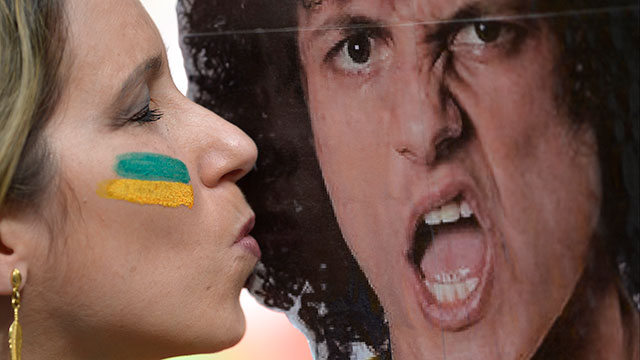 Brazil-Fan-&-David-Luiz