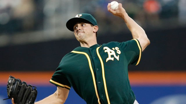 Blue Jays claim LHP Mills from Athletics