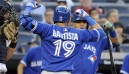 Bautista leads Jays in snapping losing streak