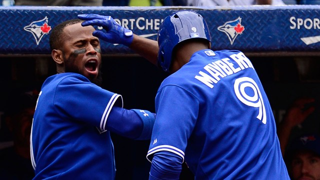Mayberry home run an eye-opener for Jays