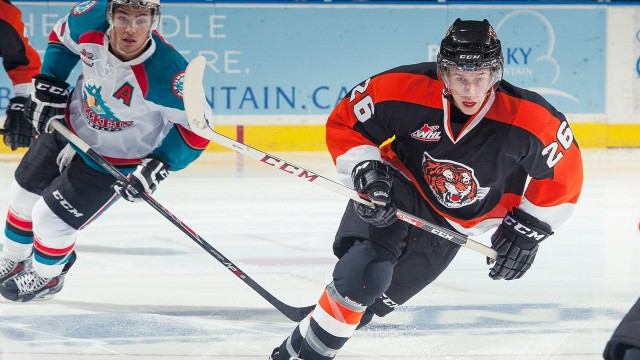 WHL: Notebook - Tigers Jump To Strong Lead