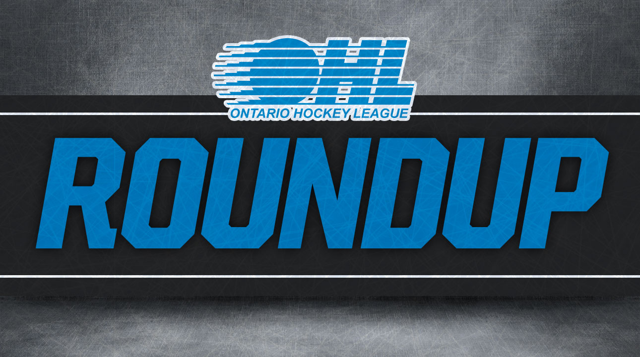OHL Roundup: Robertson's four points lead Kingston past Kitchener