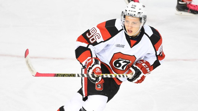 OHL: Salituro Picking Up The Slack In Ottawa