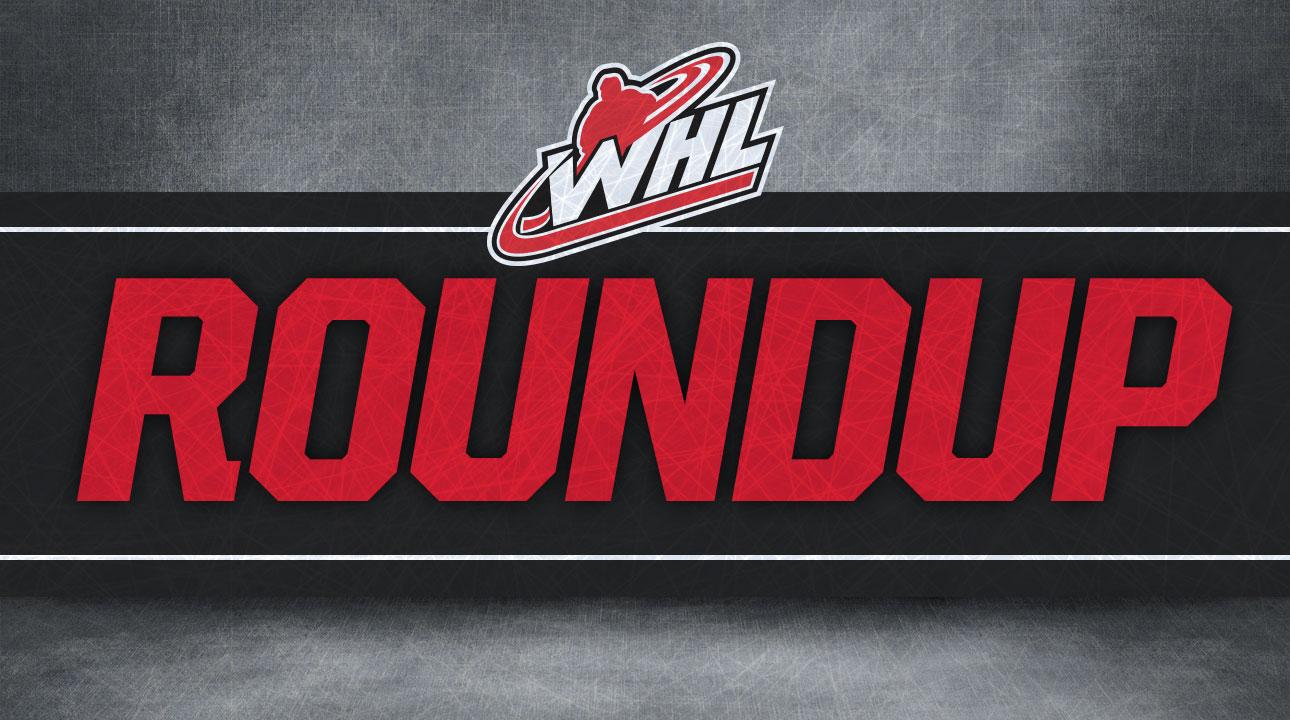 WHL Roundup: Hagel scores twice as Rebels beat Oil Kings