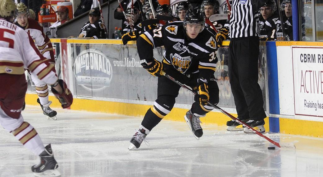 QMJHL: Screaming Eagles Top Line Dazzles