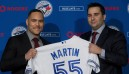 Martin: Family is thrilled I'm playing for Blue Jays