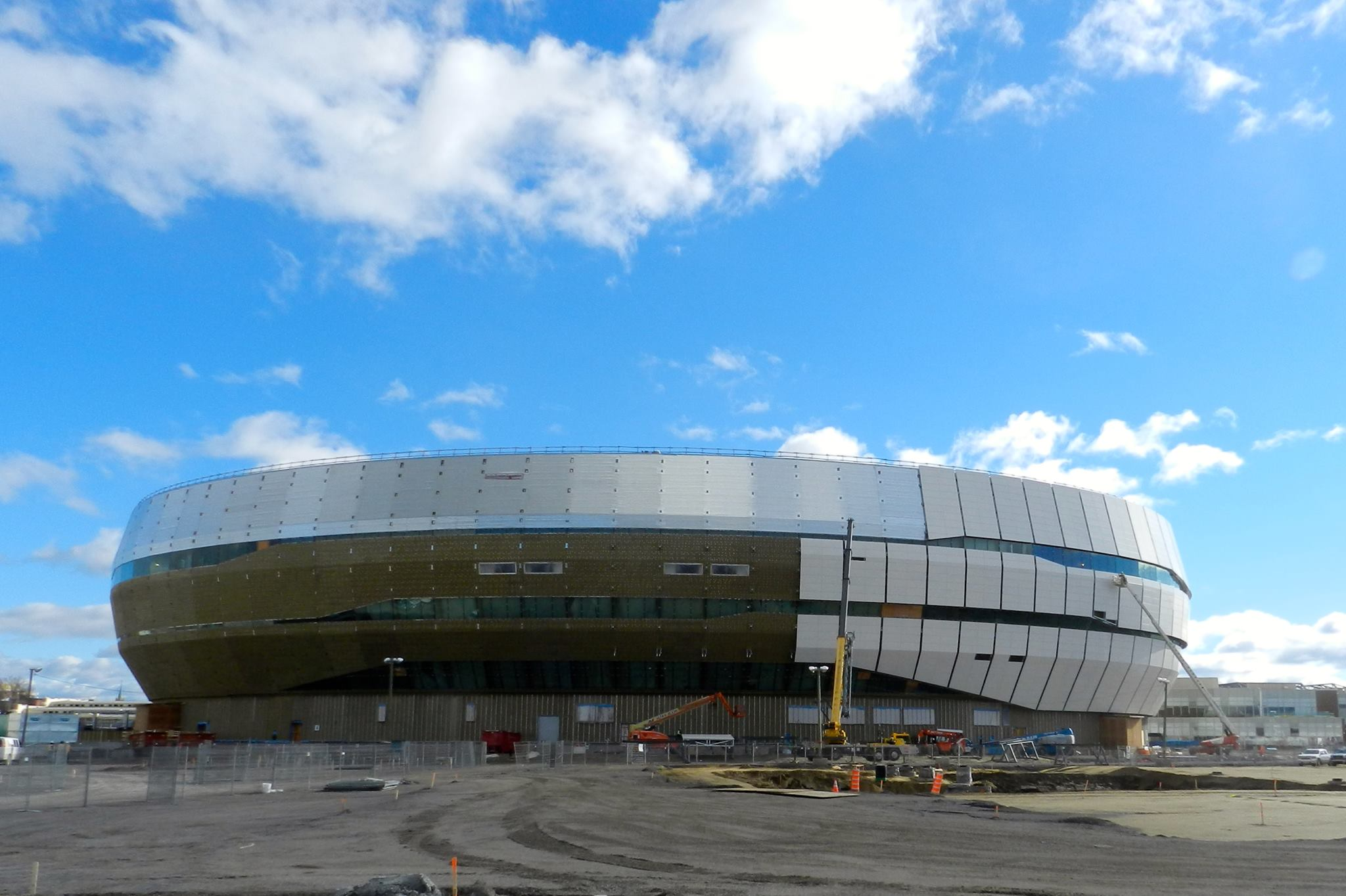 Pictures Quebec Nhl Arena Making Progress Sportsnet Ca