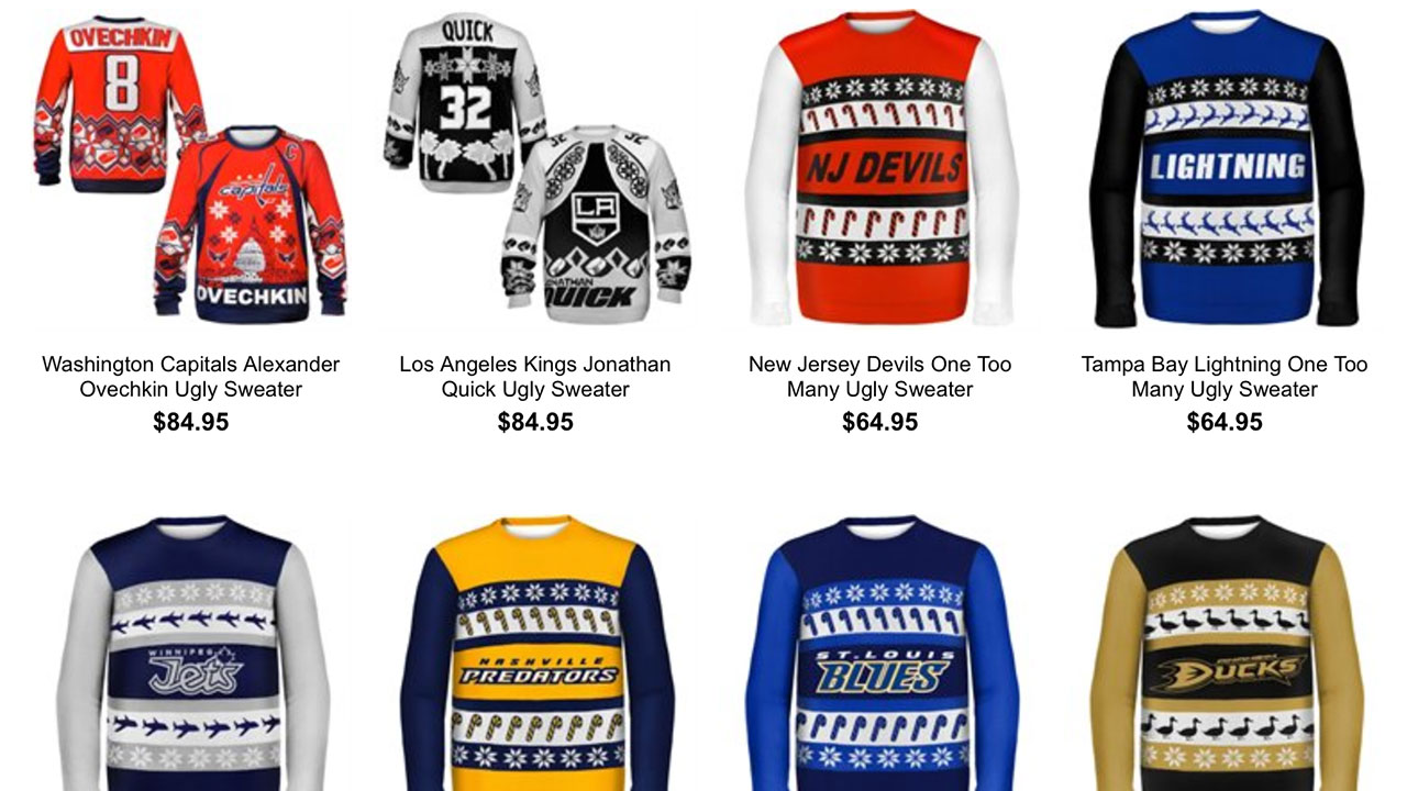 New NHL ugly sweaters are so bad they\'re good - Sportsnet.ca