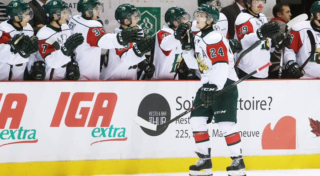 QMJHL: Roundup - Mooseheads Rout Eagles