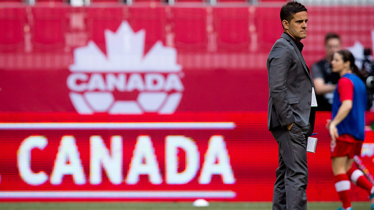 Herdman replaces Zambrano as Canadian men's soccer team coach