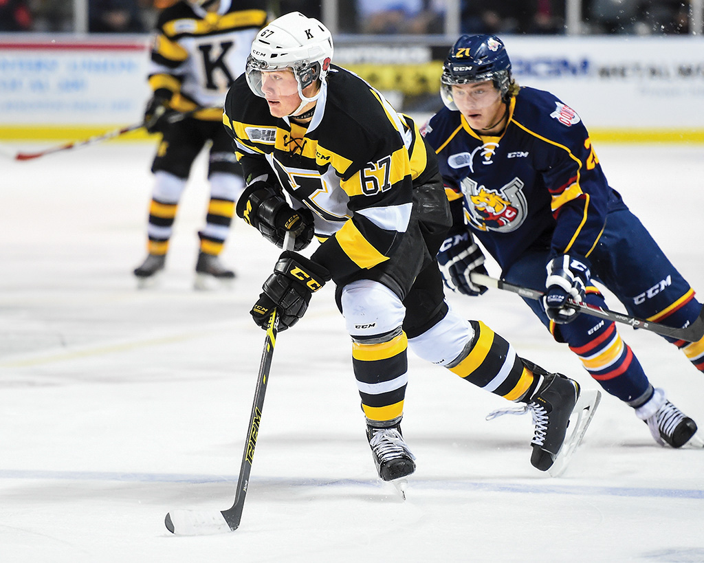 Lawson Crouse Frontenacs39 Lawson Crouse turning heads Sportsnetca