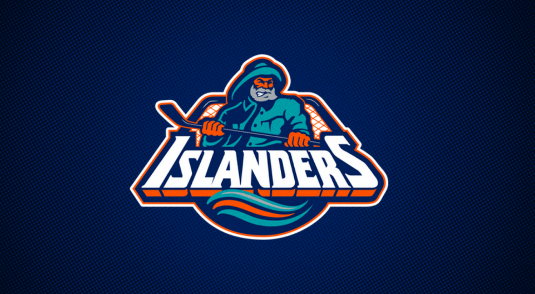 A Captain Highliner type figure graced the front of the New York Islanders   jerseys between 1995-97 5944e1d5a