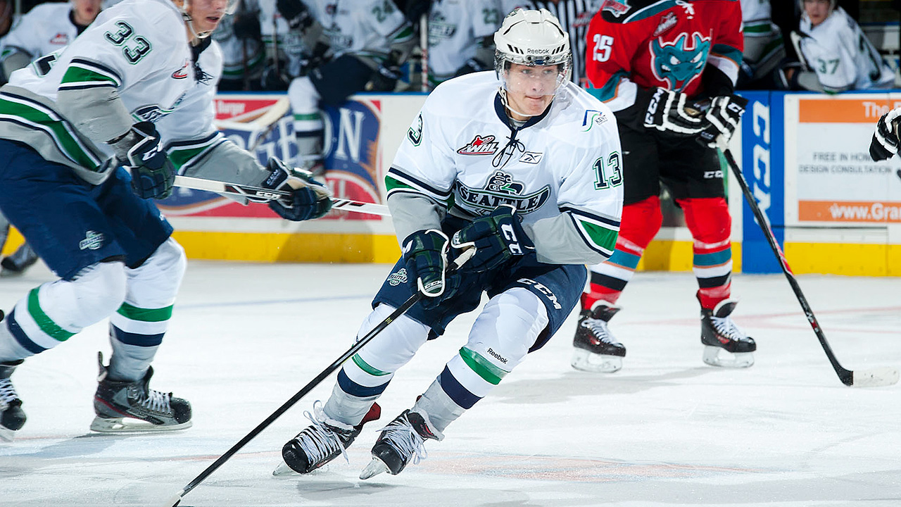 Seattle Thunderbirds; Mathew Barzal; WHL; 2015 NHL Draft; WHL; CHL; Canada-Russia Series; New York Islanders; Sportsnet