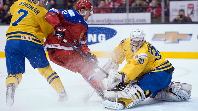 WJC: Russia Tops Sweden, Headed To Gold Medal Final