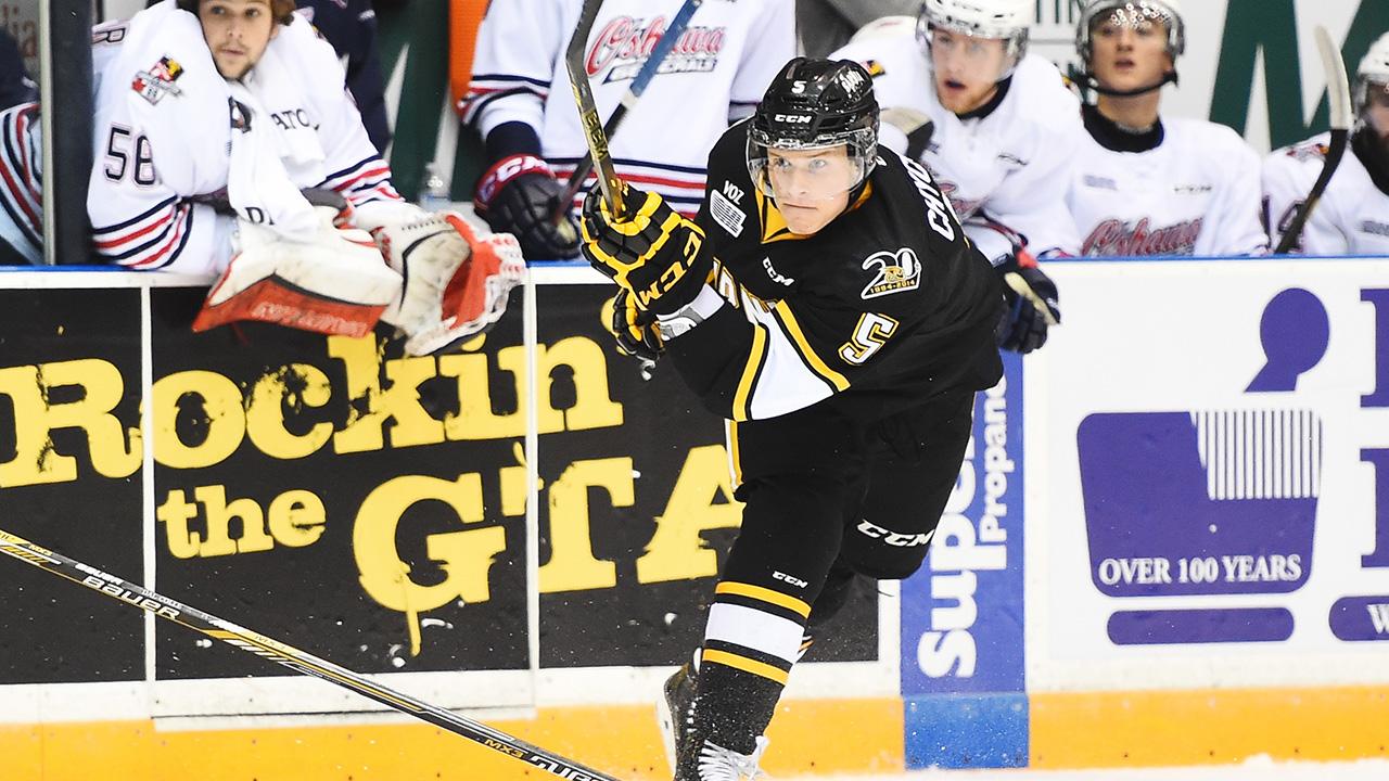 Jakob Chychrun; Sarnia Sting; OHL; CHL; 2016 NHL Draft; Top Prospect