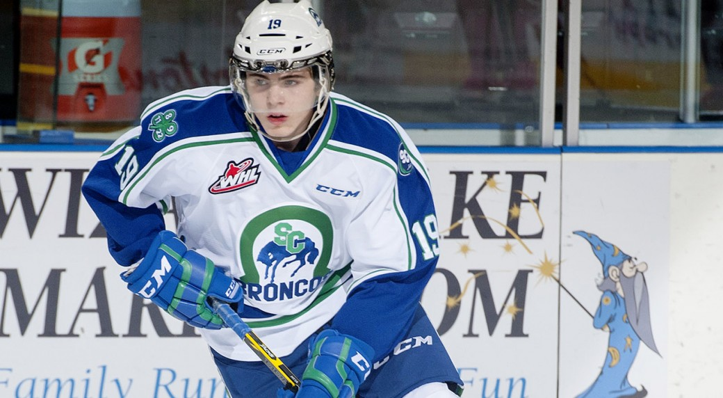 WHL: Broncos Deal Top Forward To Rebels