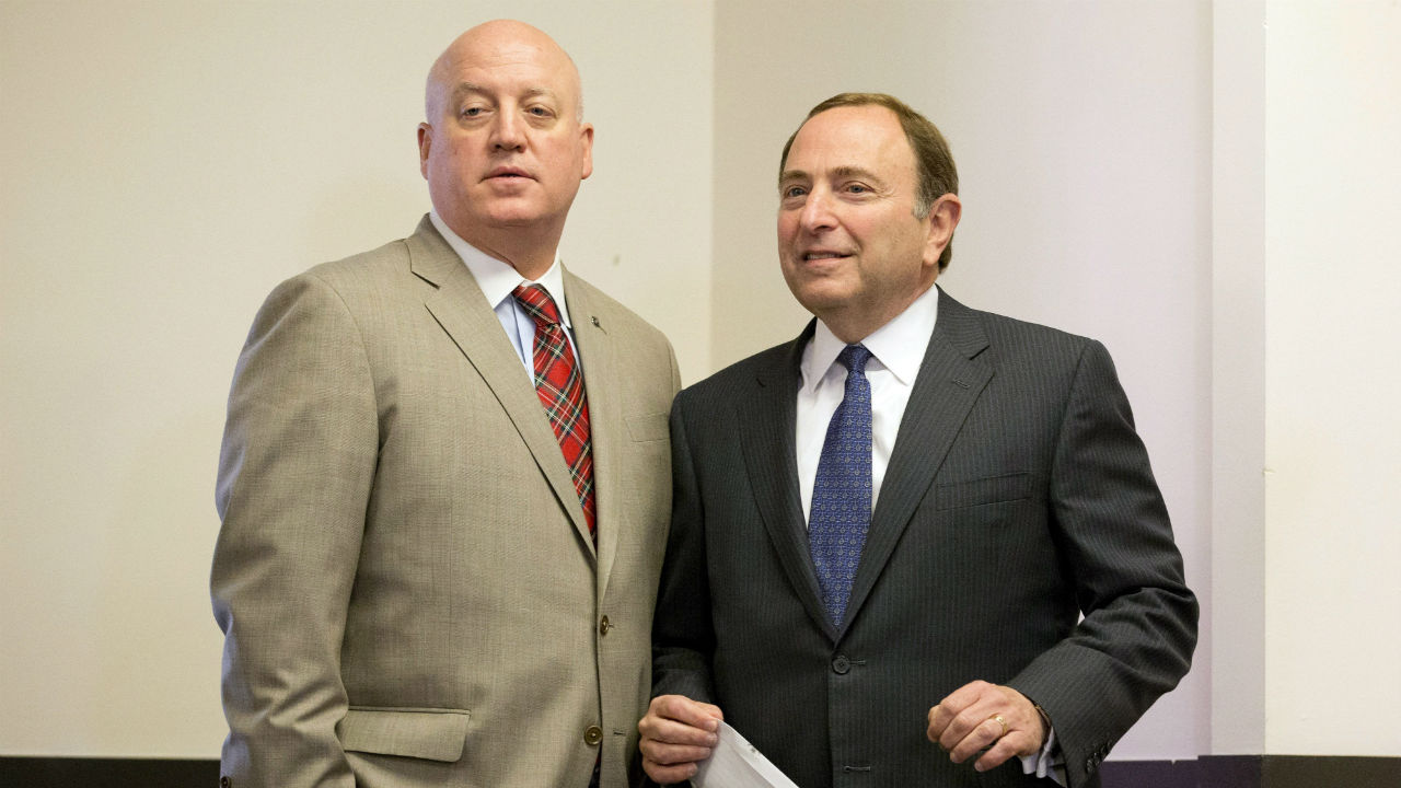 Bill Daly; Gary Bettman