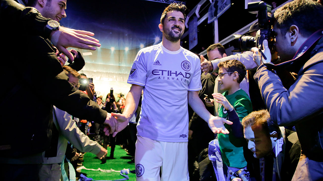 David Villa - Ex-European and world champion David Villa will spearhead the New York City FC attack this season. He'll be a sure-fire candidate to win the Golden Boot as well. The Spaniard is unquestionably one of the most talented MLS strikers and capable of scoring at least 20 goals in 2015.