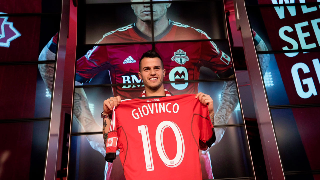 Sebastian Giovinco - Toronto FC had another winter spending spree and landed Giovinco as a designated player. The ex-Juventus forward has the potential to dominant MLS with his agility, technique and playmaking ability. His success will directly correlate to TFC's.