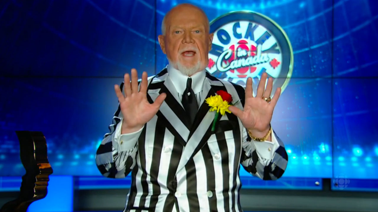 CHL: Don Cherry 'not Happy' With European Players In League