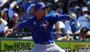 Stroman showing no rust in first spring training start
