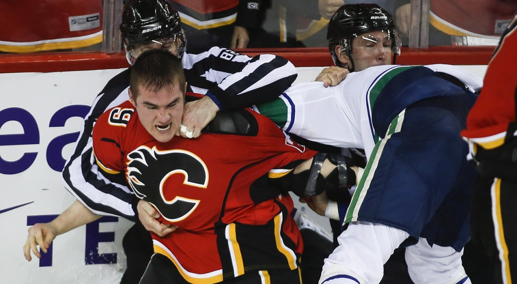 Ferland, Flames Frustrate Canucks In Game 3 Win