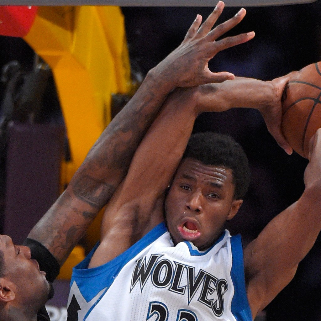 Wiggins recorded double-double but Lakers top Timberwolves ...