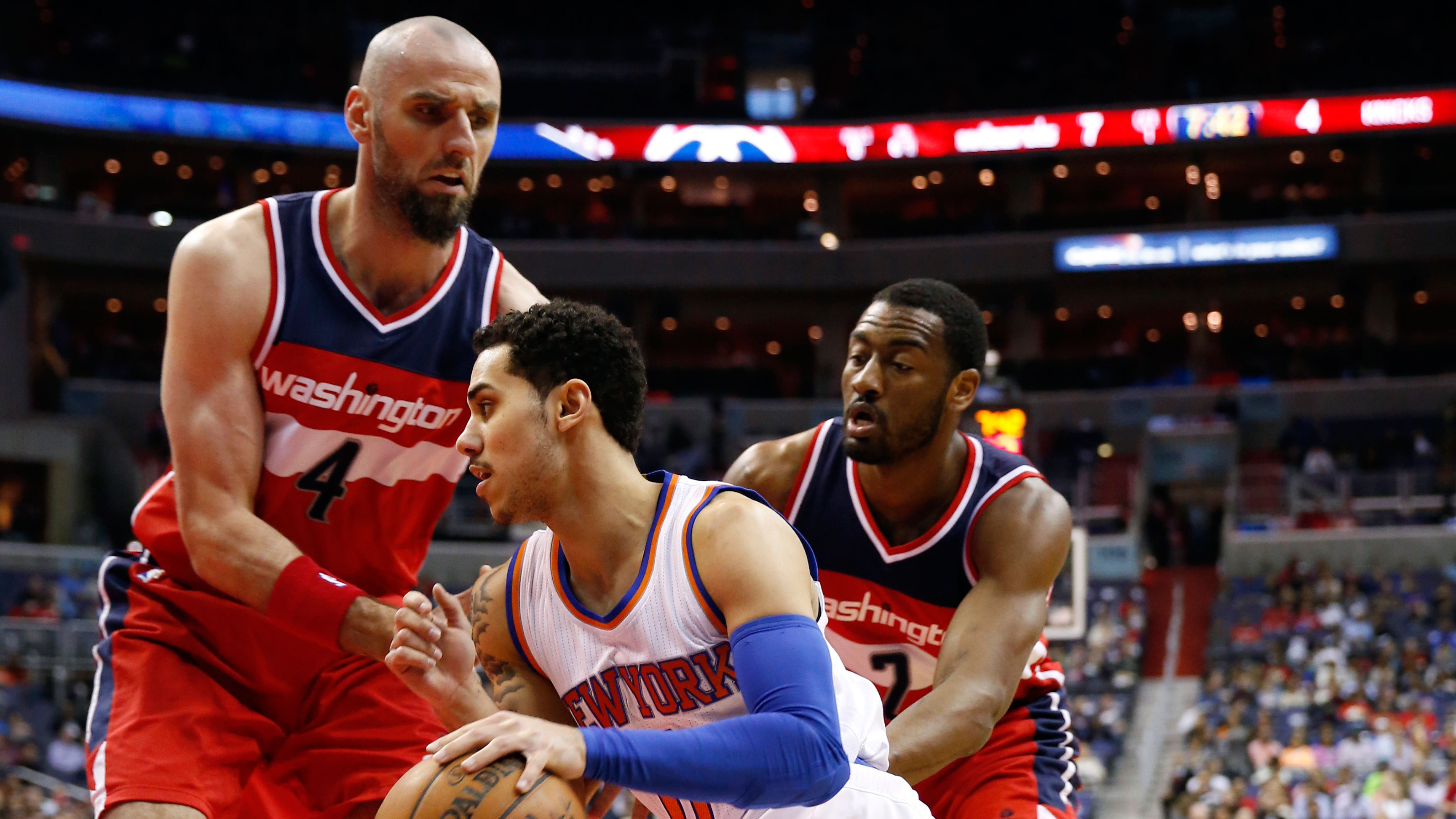 447a28a9b2e8 Gortat powers Wizards to win over Knicks - Sportsnet.ca