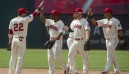 Indians' offence rolls past Blue Jays