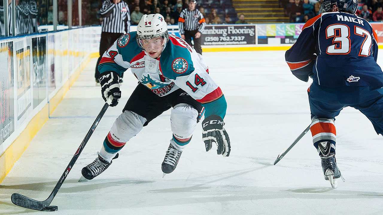 WHL: League Roundup - Chartier Powers Kelowna Past Seattle