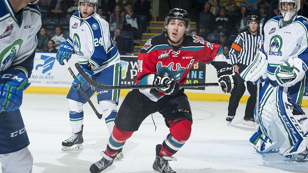 Tyson Baillie; Kelowna Rockets; WHL Playoffs