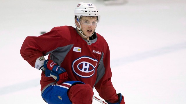 Galchenyuk Meets With GM Following Girlfriend's Arrest