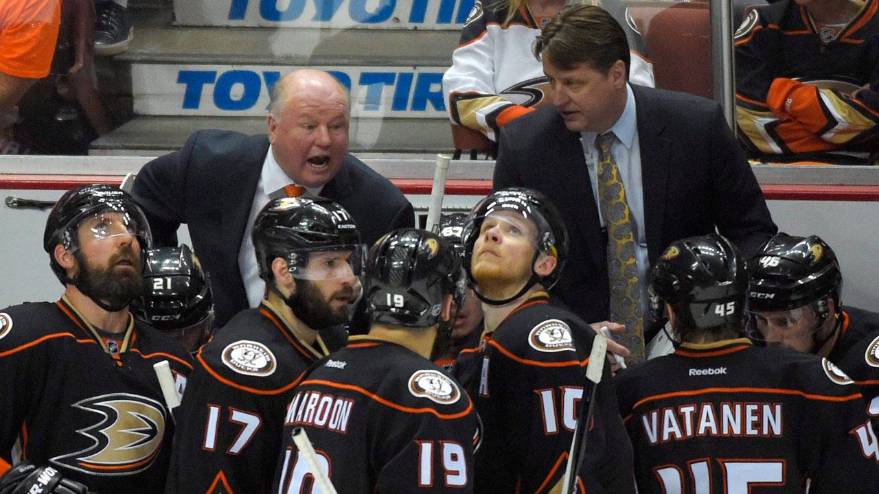 Bruce Boudreau; Anaheim Ducks