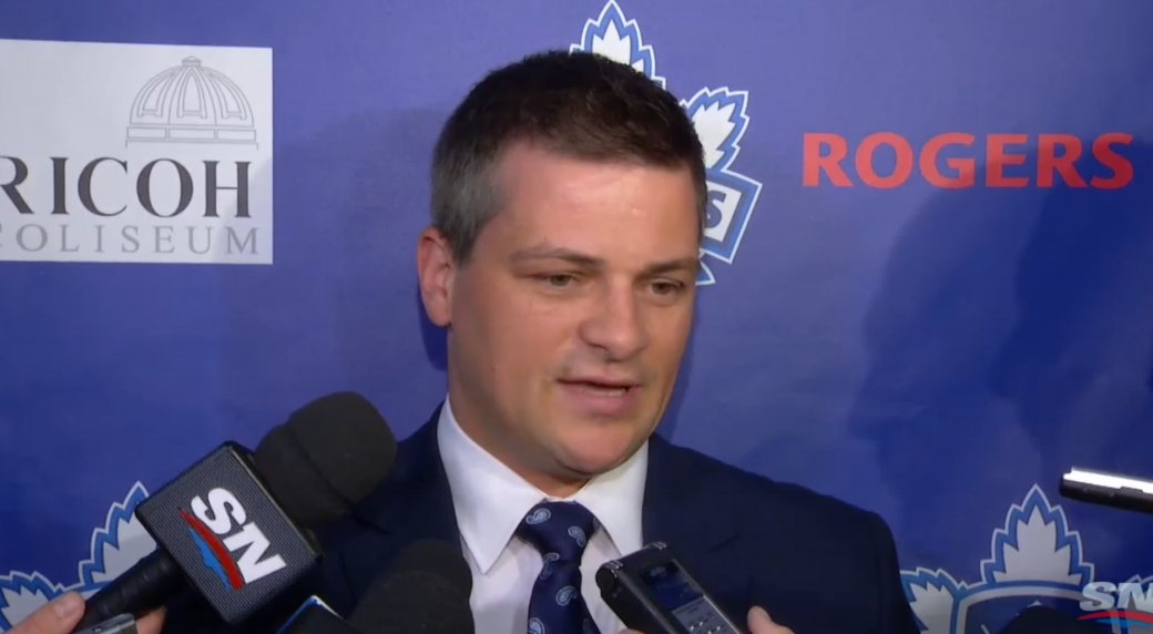 AHL: Marlies' Keefe Making Most Of First Year In Pro Coaching