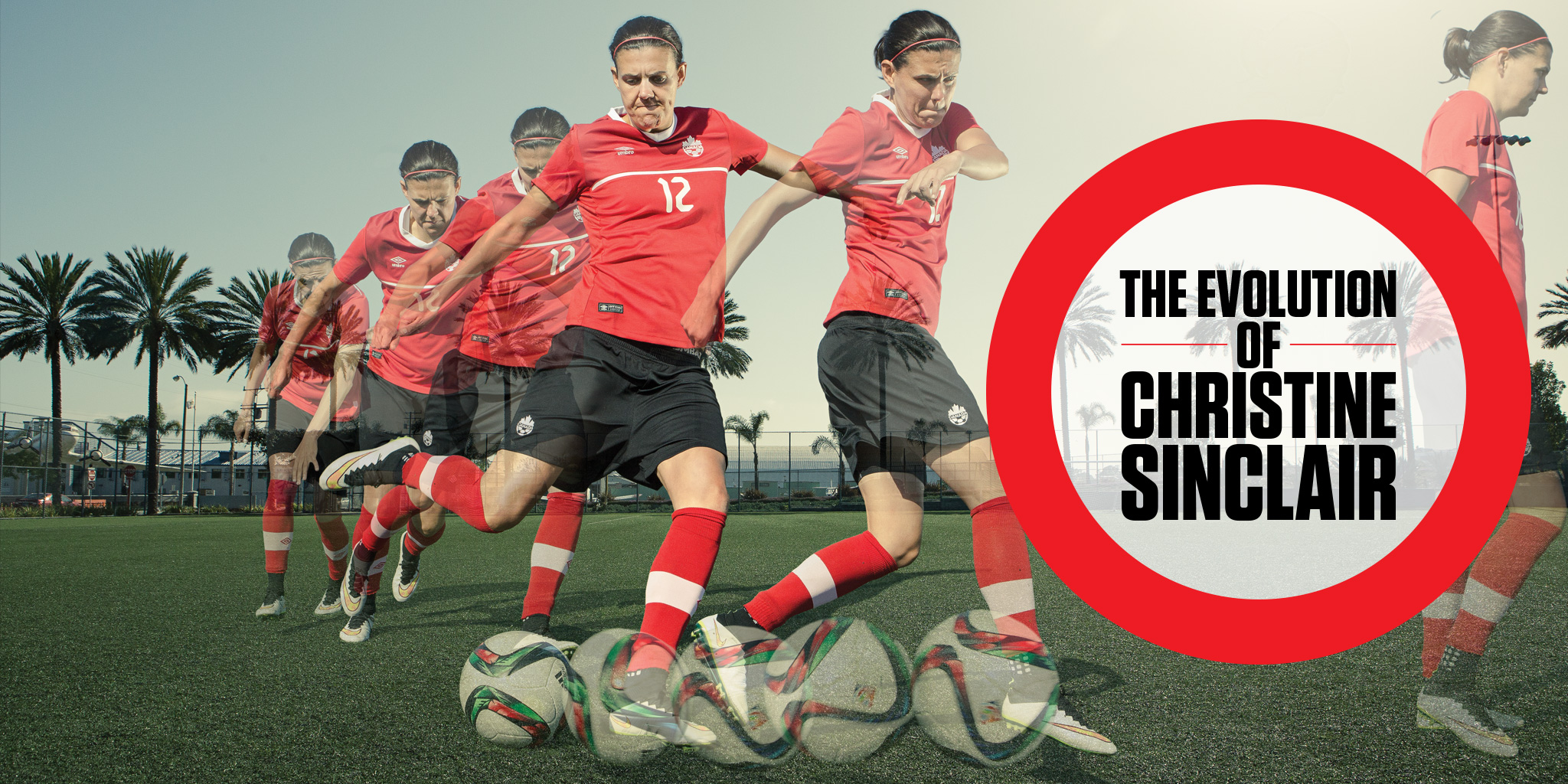 Big Read The Evolution Of Christine Sinclair Sportsnet Ca