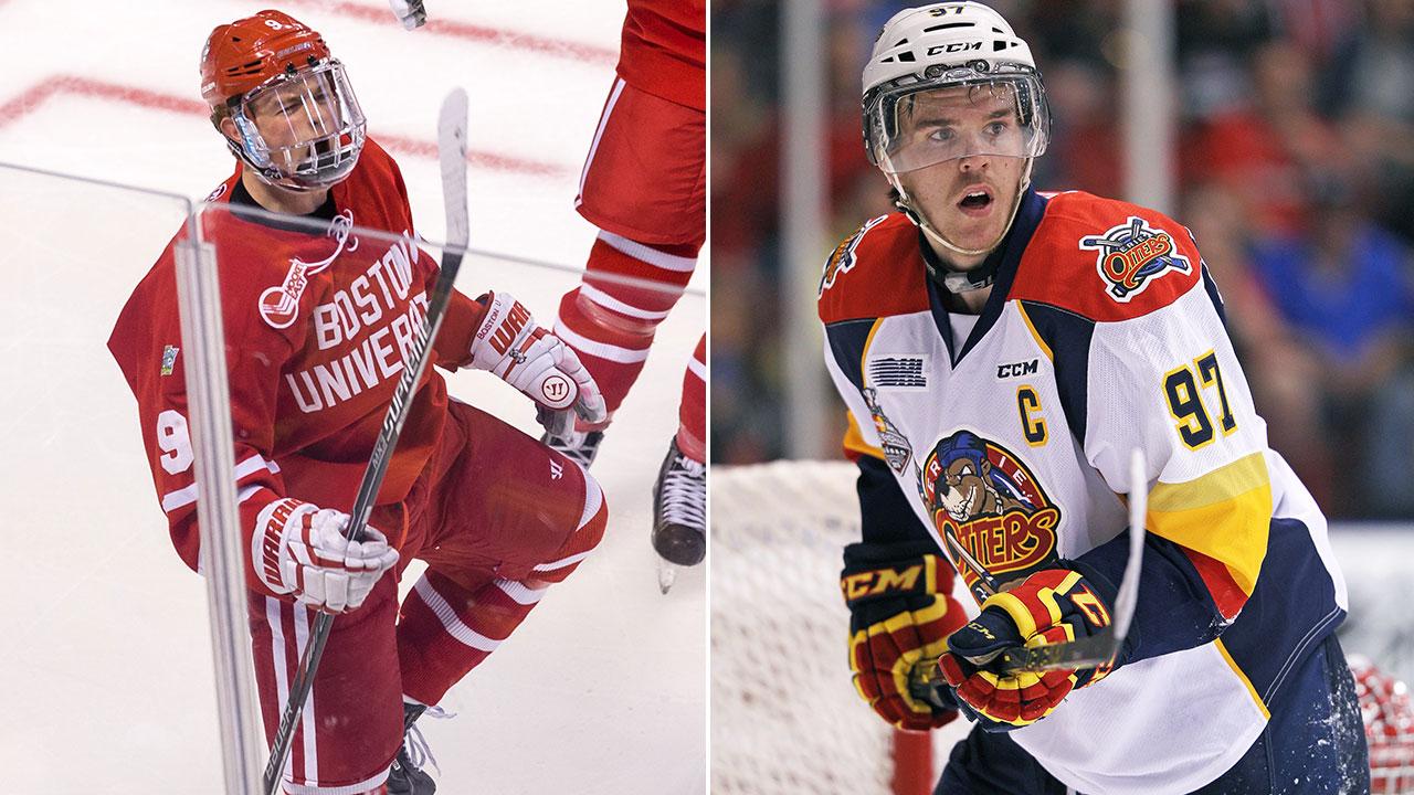 McDavid vs. Eichel: NHL Combine results - Sportsnet.ca