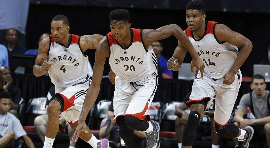Raptors using Summer League as opportunity to grow stacked farm system d34110194