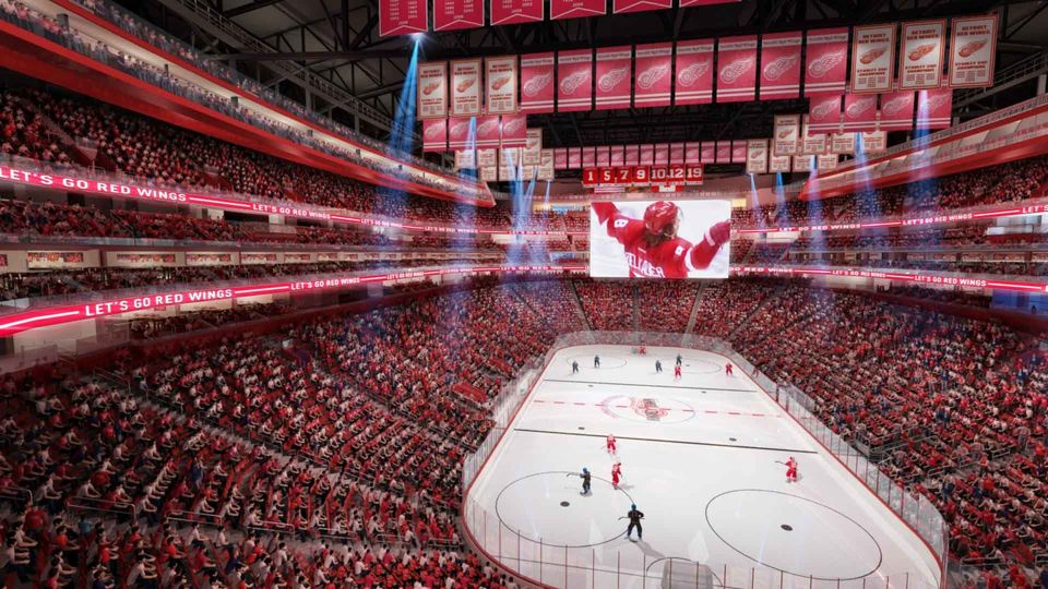 A Look Inside Detroit Red Wings Future Arena Sportsnet Ca