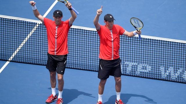 Bryans give U.S. Davis Cup