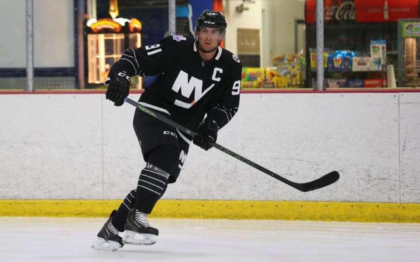 buy online 4cc9b a796f Photos: Islanders' new third jersey goes Brooklyn - Sportsnet.ca