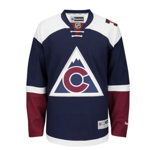 promo code 9b155 62bc7 Sneak peek: Ducks and Avalanche third jerseys leaked ...