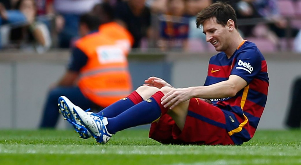 Which Leo Messi's season was the worst in terms of injuries